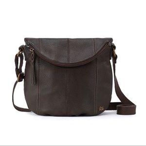 The SAK Deena Flap Crossbody Leather Handbag